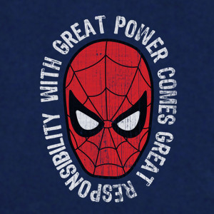 spiderman-with-great-power-comes-great-responsibility